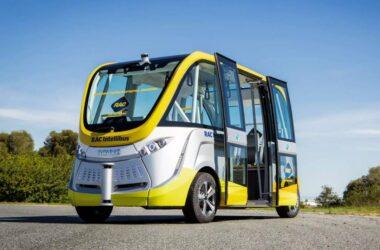 Primul autobuz fără şofer va circula chiar din acest an pe străzile din Cluj-Napoca