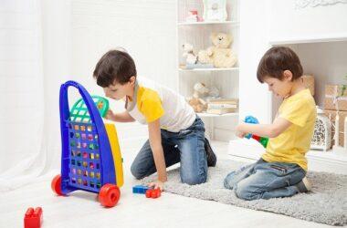 covor camera copilului