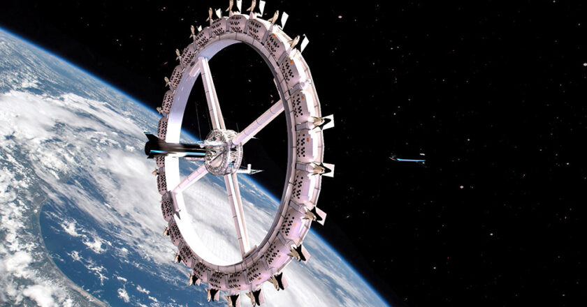 Cum va arăta primul hotel care va fi construit în spațiu