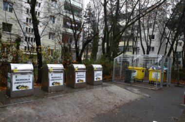 50 de puncte supraterane pentru colectarea deșeurilor reciclabile au fost instalate în Cluj-Napoca
