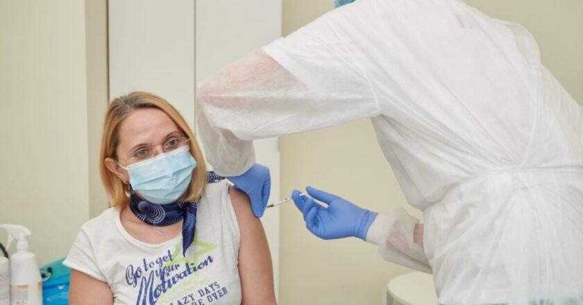 Județul Cluj a depășit pragul de 100.000 de vaccinuri efectuate