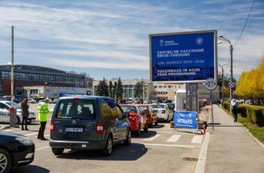Cluj-Napoca a atins cea mai mare rată de vaccinare din România