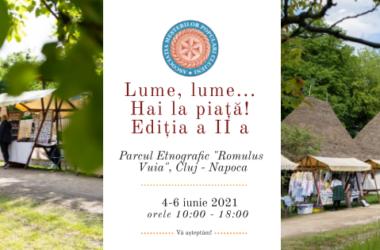 Meșteri și producători locali – din nou în Parcul Etnografic din Cluj