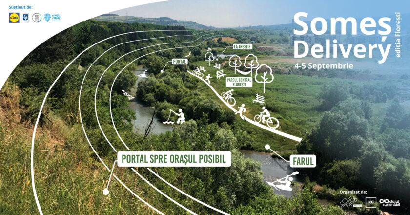 Someș Delivery 2021 - prima ediție pe râul din Florești