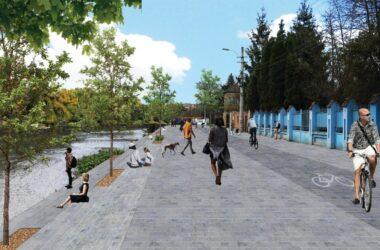 Încep lucrările de revitalizare de-a lungul Someșului Mic în Cluj-Napoca